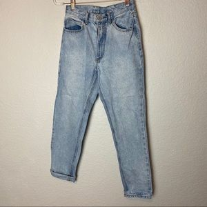John Galt light wash high rise jeans